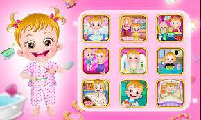 Game online Baby Hazel